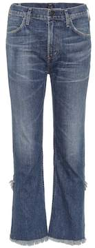 Citizens of Humanity Drew Fray high-waisted jeans