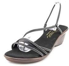 Onex Brady Women Open Toe Leather Wedge Sandal.