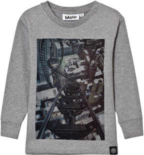 Molo Rollercoaster Print Rickey Long Sleeve T-Shirt