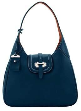 Dooney & Bourke Florentine Toscana Large Hobo Shoulder Bag. - NAVY - STYLE