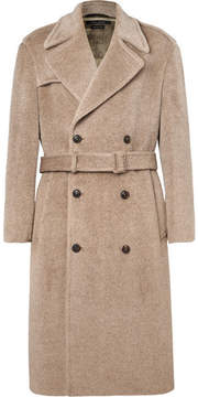 Marc Jacobs Oversized Double-Breasted Brushed Woven Coat