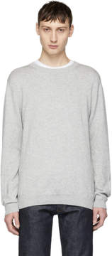 Saturdays NYC Grey Everyday Classic Sweater