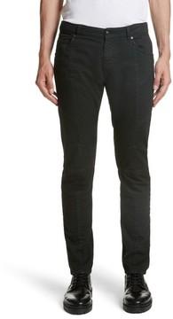 Pierre Balmain Men's Moto Jeans