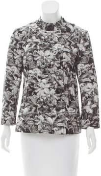 Dries Van Noten Printed Long Sleeve Jacket