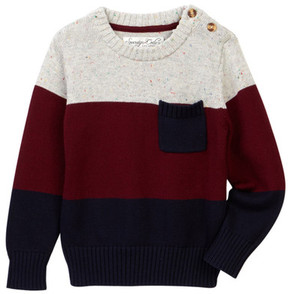 Sovereign Code Mill Colorblock Sweater (Toddler & Little Boys)