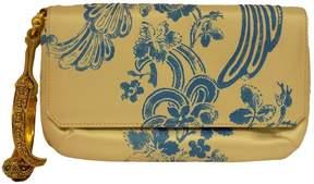 Roberto Cavalli Multicolour Suede Clutch Bag