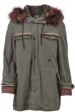 Bebe Military Parka Coat