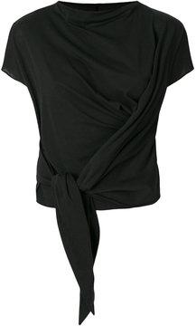 Chalayan self wrap top