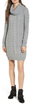 Everly Women's Cowl Neck Sweater Dress