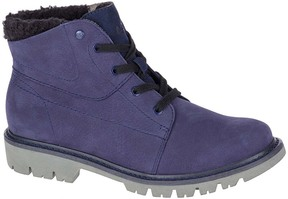 CAT Footwear Blue Fret Leather Ankle Boot