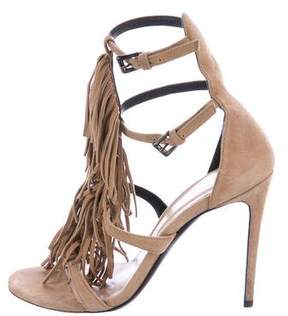 Barbara Bui Suede Fringe Sandals