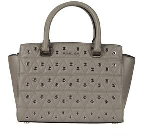 Michael Kors Quilted Tote - PEARL GREY - STYLE