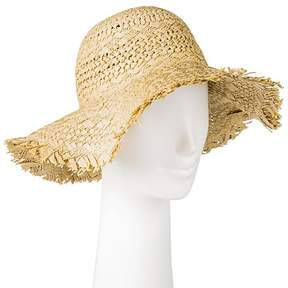 Merona Women's Textured Fringe Floppy Hat