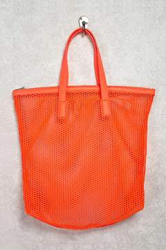 Forever 21 Netted Sheer Tote Bag