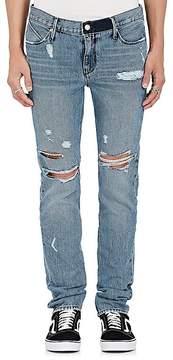 RtA Men's Distressed Slim Straight Jeans