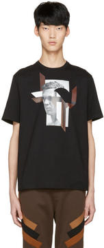 Neil Barrett Black Modernist Steve McQueen T-Shirt
