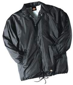 Dickies Men's Snap Front Nylon Jacket.