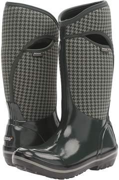 Bogs Plimsoll Houndstooth Tall Women's Waterproof Boots