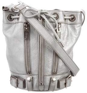 Saint Laurent Metallic Rider Bucket Bag