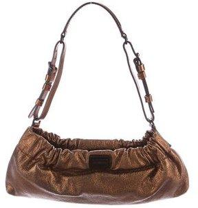 Burberry Metallic Leather Shoulder Bag - METALLIC - STYLE