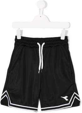Diadora Junior logo basketball shorts