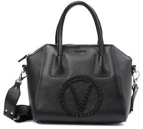 Mario Valentino Valentino By Minimi Rock Leather Satchel