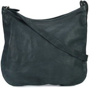 Guidi textured shoulder bag
