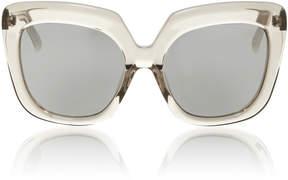 Linda Farrow Grey Lucite Sunglasses