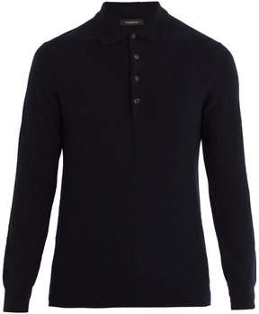 Ermenegildo Zegna Cashmere and silk-blend polo sweater