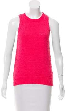 White + Warren Sleeveless Knit Sweater