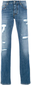 Ermanno Scervino distressed denim jeans