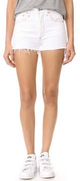A Gold E AGOLDE Jaden High Rise Cutoff Shorts