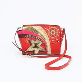 Michael Kors Selma Medium Bright Red Messenger - REDS - STYLE
