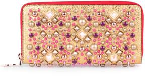 Christian Louboutin Panettone metallic gold wallet