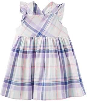 Osh Kosh Oshkosh Bgosh Baby Girl Cross-Back Plaid Dress