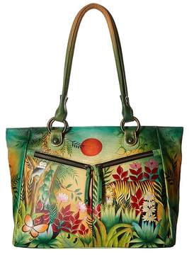 Anuschka 562 Large Shopper With Front Pockets Tote Handbags