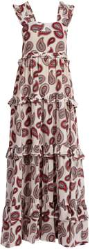 DAY Birger et Mikkelsen DODO BAR OR Kat paisley-print silk maxi dress