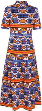 Stella Jean Ikat Print Dress