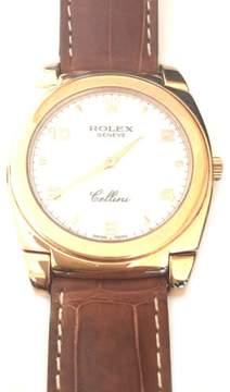 Rolex Rose Gold Cellini Watch