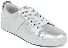 Marc Fisher Women's Candi Leather Low Top Lace Up Sneakers