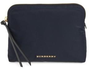 Burberry Women's Nylon Pouch - Blue - BLUE - STYLE