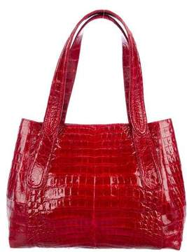 Nancy Gonzalez Crocodile Shopper Tote