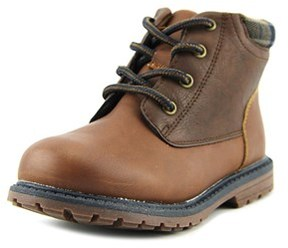 Osh Kosh Chandler Youth Round Toe Synthetic Brown Boot.