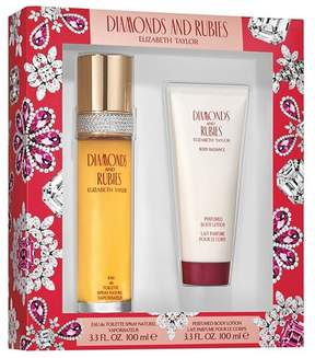 Elizabeth Arden Rubies & Diamonds by Elizabeth Taylor Women's Fragrance Gift Set - 2pc