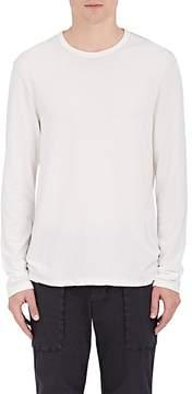 James Perse Men's Leaf-Print Cotton Jersey T-Shirt