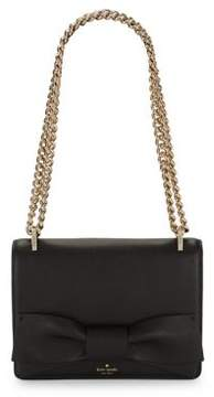 Kate Spade Marci Bow Leather Shoulder-Chain Bag