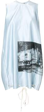 Calvin Klein x Andy Warhol Foundation car crash dress