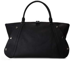 Akris Aimee Medium Leather Satchel Bag