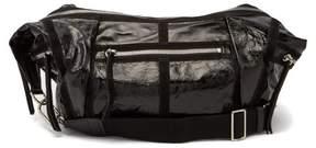 Isabel Marant Nawey Patent Leather Shoulder Bag - Womens - Black