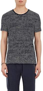 ATM Anthony Thomas Melillo MEN'S BROKEN-STRIPED COTTON T-SHIRT